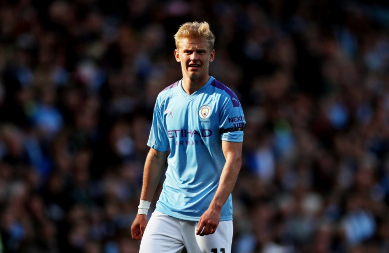 Zinchenko's City Value Rises After Juve Interest