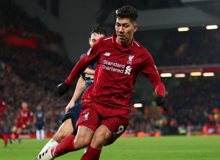 Firmino Rubbishes Keane's Criticism of United, Liverpool's Brazilian Players' Pre-Match Parley