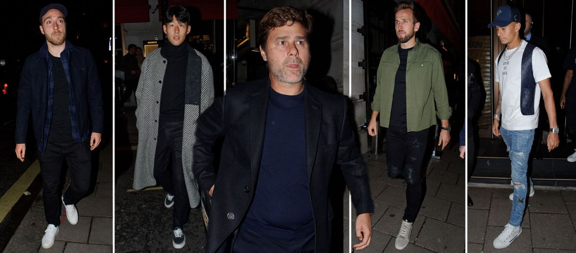 Tottenham Stars Show Under Pressure Pochettino Support With Lavish Dinner
