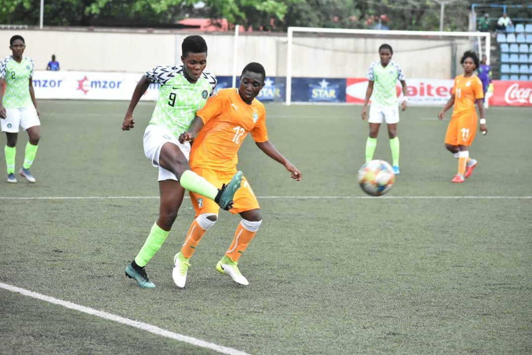 Super Falcons Held By CIV In Lagos, Out Of Tokyo 2020 Women's Football