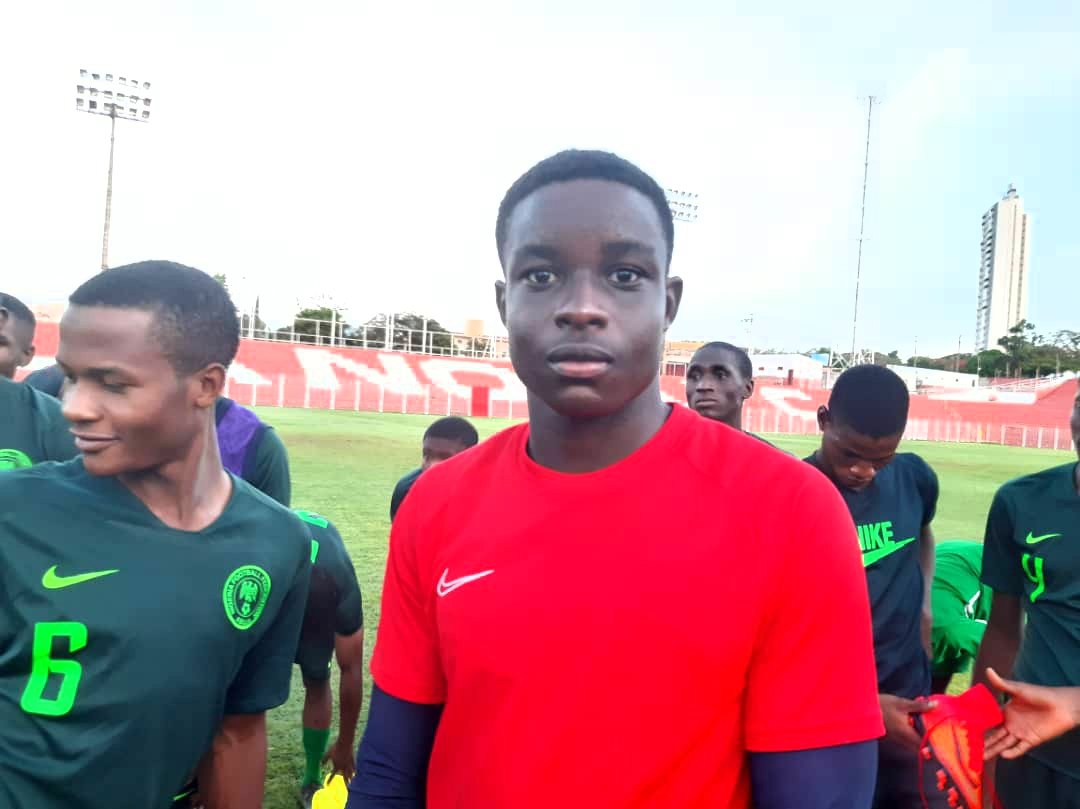 Eaglets Goalie, Oluwabusola: We're Set To Start Brazil 2019 On Winning Note Vs Hungary