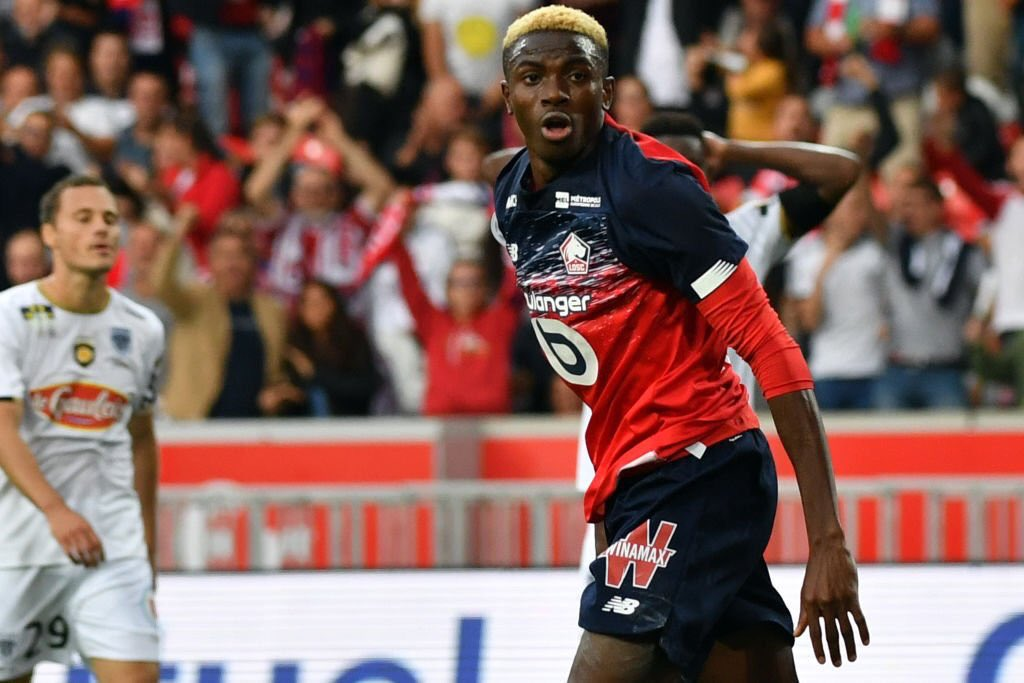 UCL :  Osimhen Scores In Lille's Home Loss To Chelsea, Olayinka  Caged As Slavia  Prague Suffer Defeat Against  Dortmund