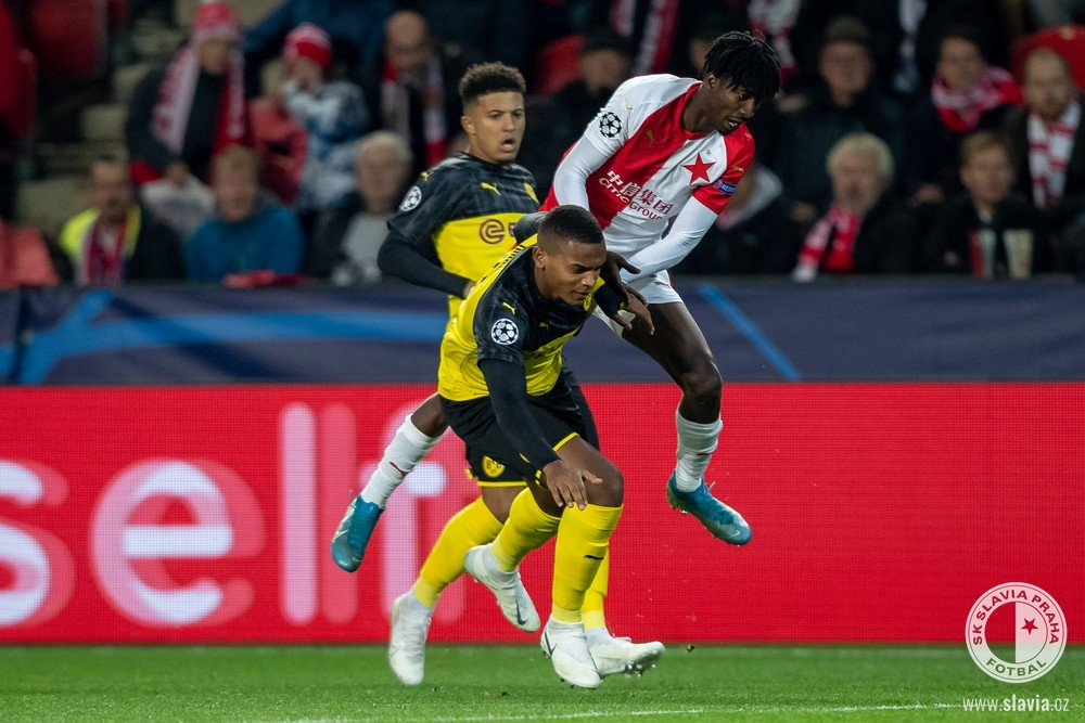 Olayinka: Slavia Prague Must Learn From Home Defeat To Dortmund