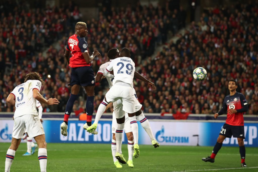 Osimhen Proud To Score First Champions League Goal, Regrets Lille Defeat To Chelsea