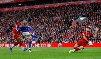Ndidi Stars In Leicester City's Away Defeat To Liverpool