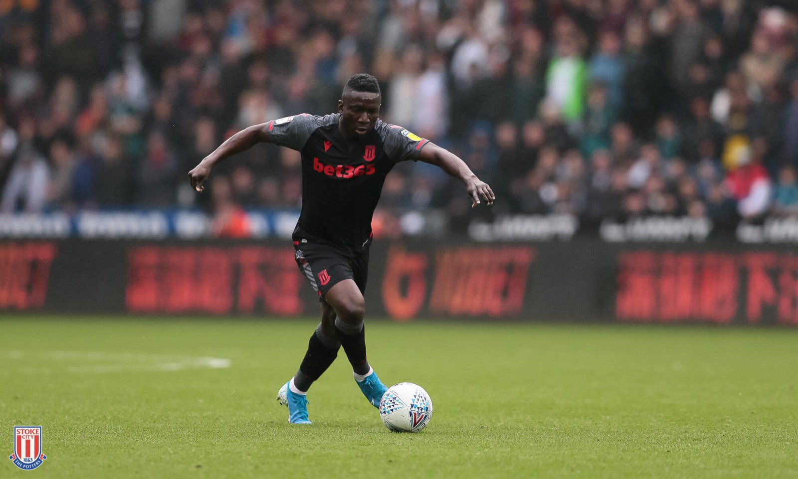 Etebo Thrilled  With Stoke City's  First  League Win Of The Season