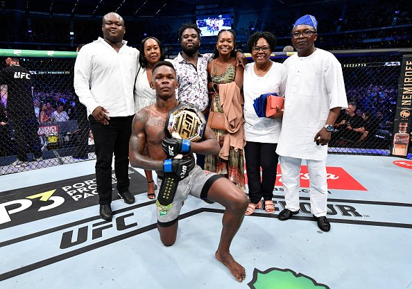 Adesanya Knocks Out Whittaker In Second Round To Win UFC Middleweight Title