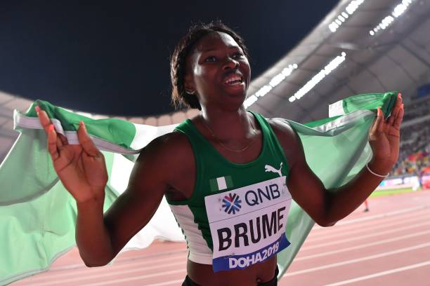 Sports Minister Dare Hails Brume, Amusan; Says No Jamboree To Tokyo 2020 Olympics