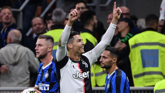 Ronaldo Revels In Juventus'  Derby d' Italia Win Against Inter Milan
