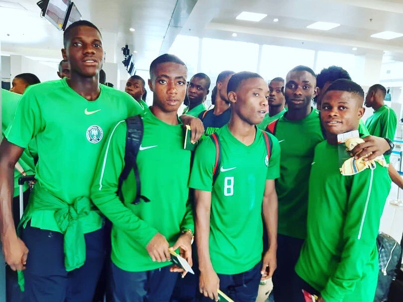 U-17 World Cup: Golden Eaglets Arrive Giaonia,  Ready For Hungary Clash