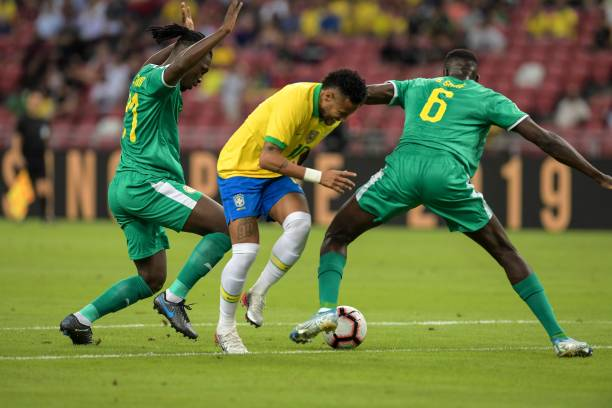 Senegal Hold Brazil As Neymar Makes History