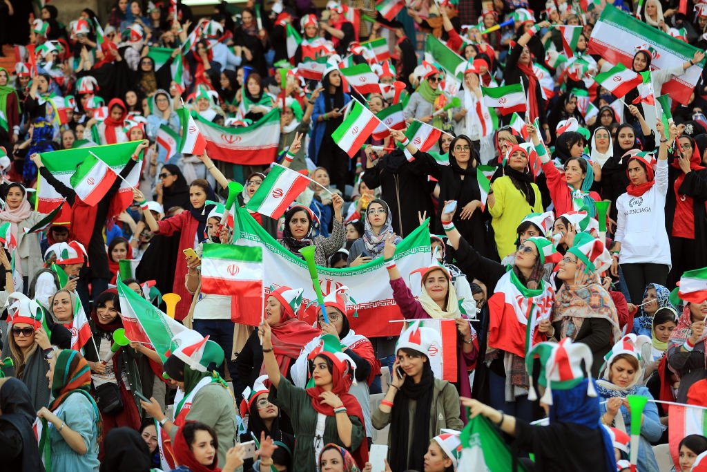 Iranian Women Attend World Cup Qualifier, End 40-Year  Exile
