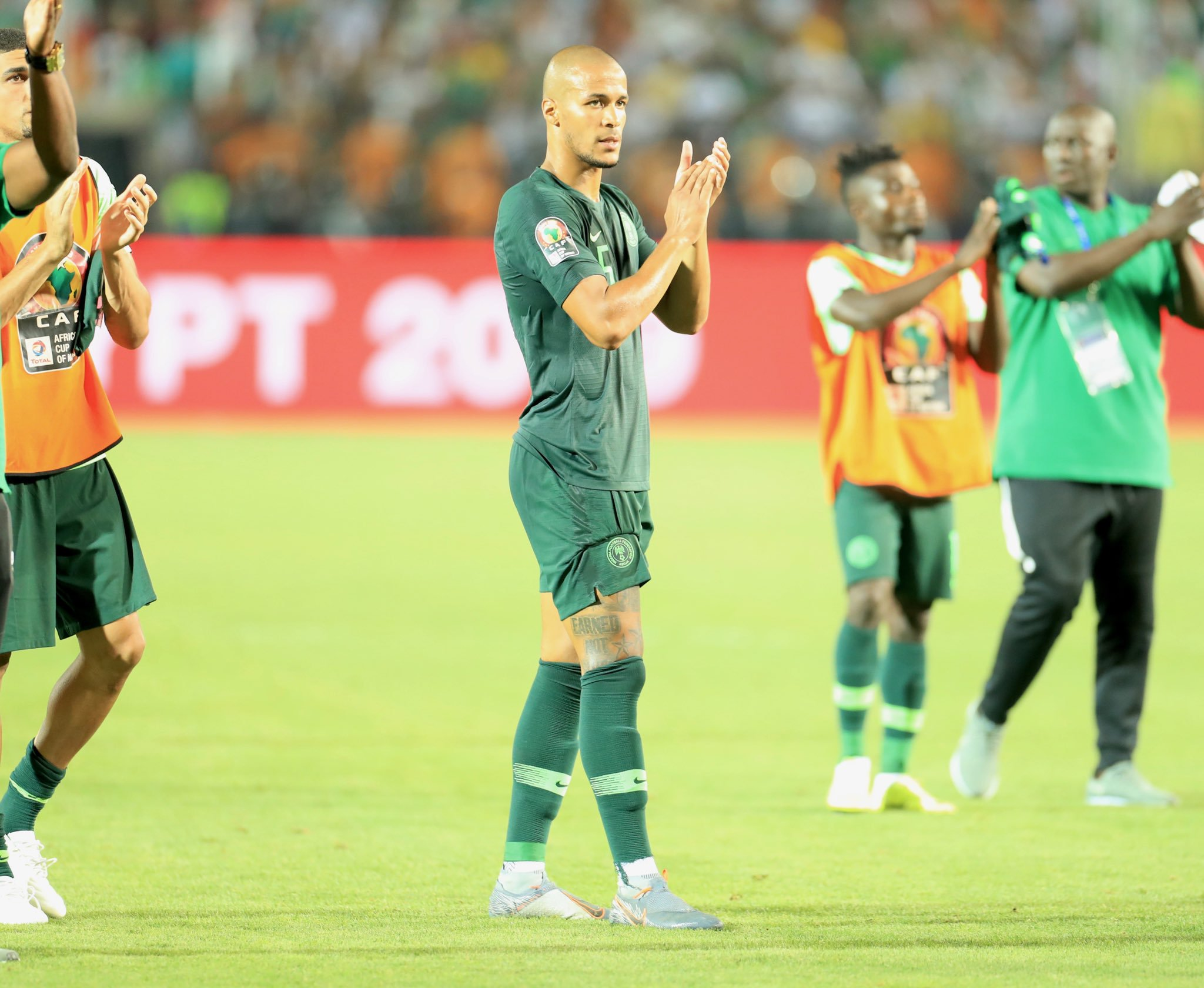 Troost- Ekong : Eagles Respect Brazil But Don't Fear Them