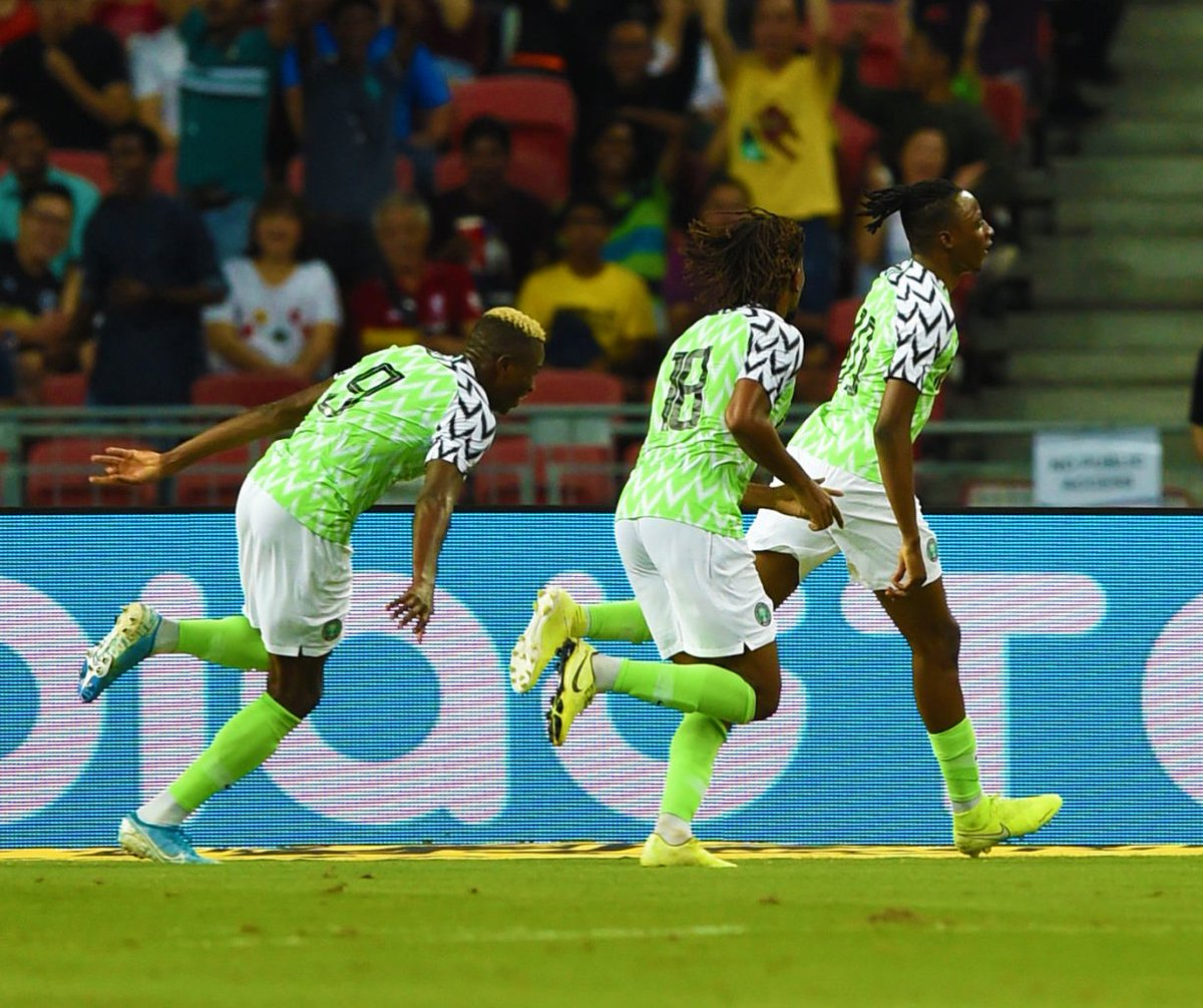 Adepoju Hails Impressive Super  Eagles Display In Draw Against Brazil
