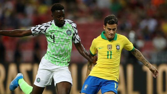 Ndidi  Revels In Super Eagles Draw Vs Brazil