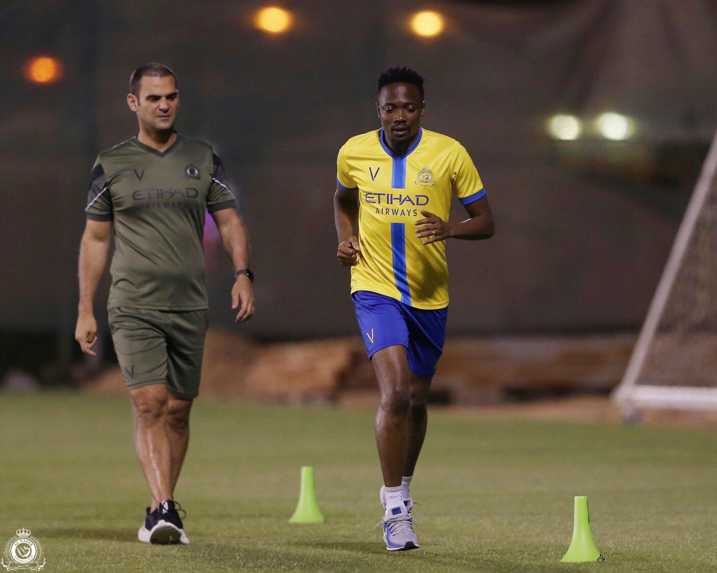 Musa Resumes Training With Al Nassr