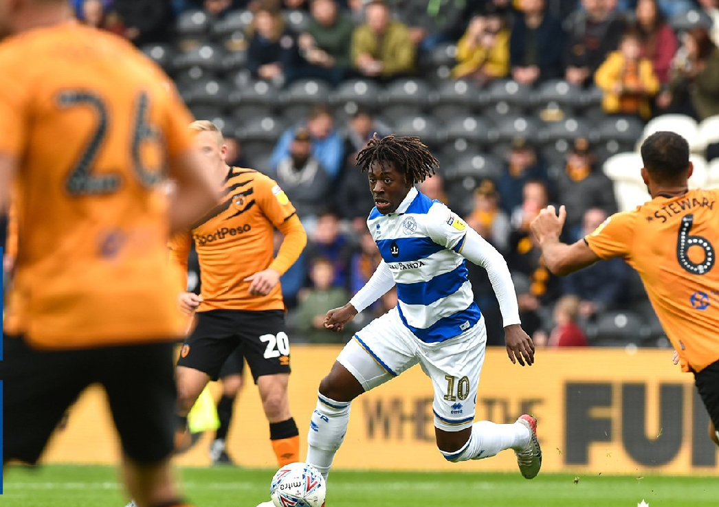 QPR Coach, Warburton: Eze Is Pleasure To Work With – Powerful Player With Lots of Technical Ability