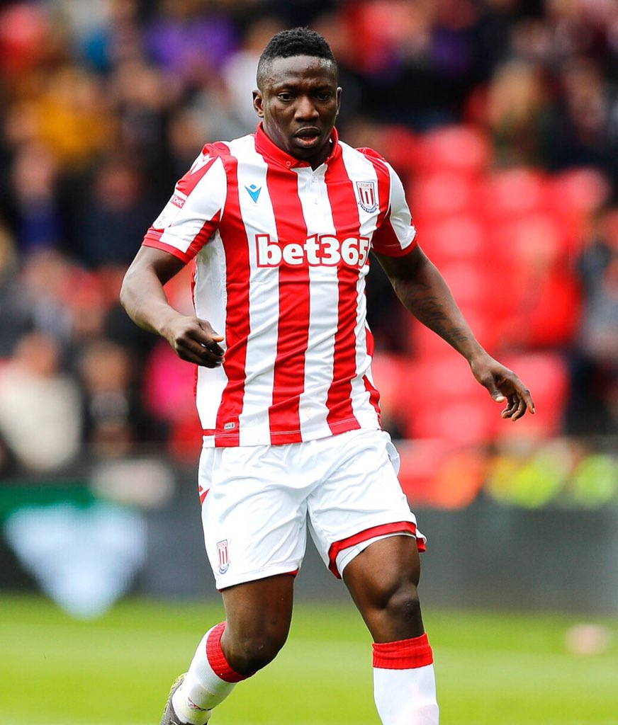 Etebo Doubtful For Stoke City,  Millwall Clash  Due To Injury
