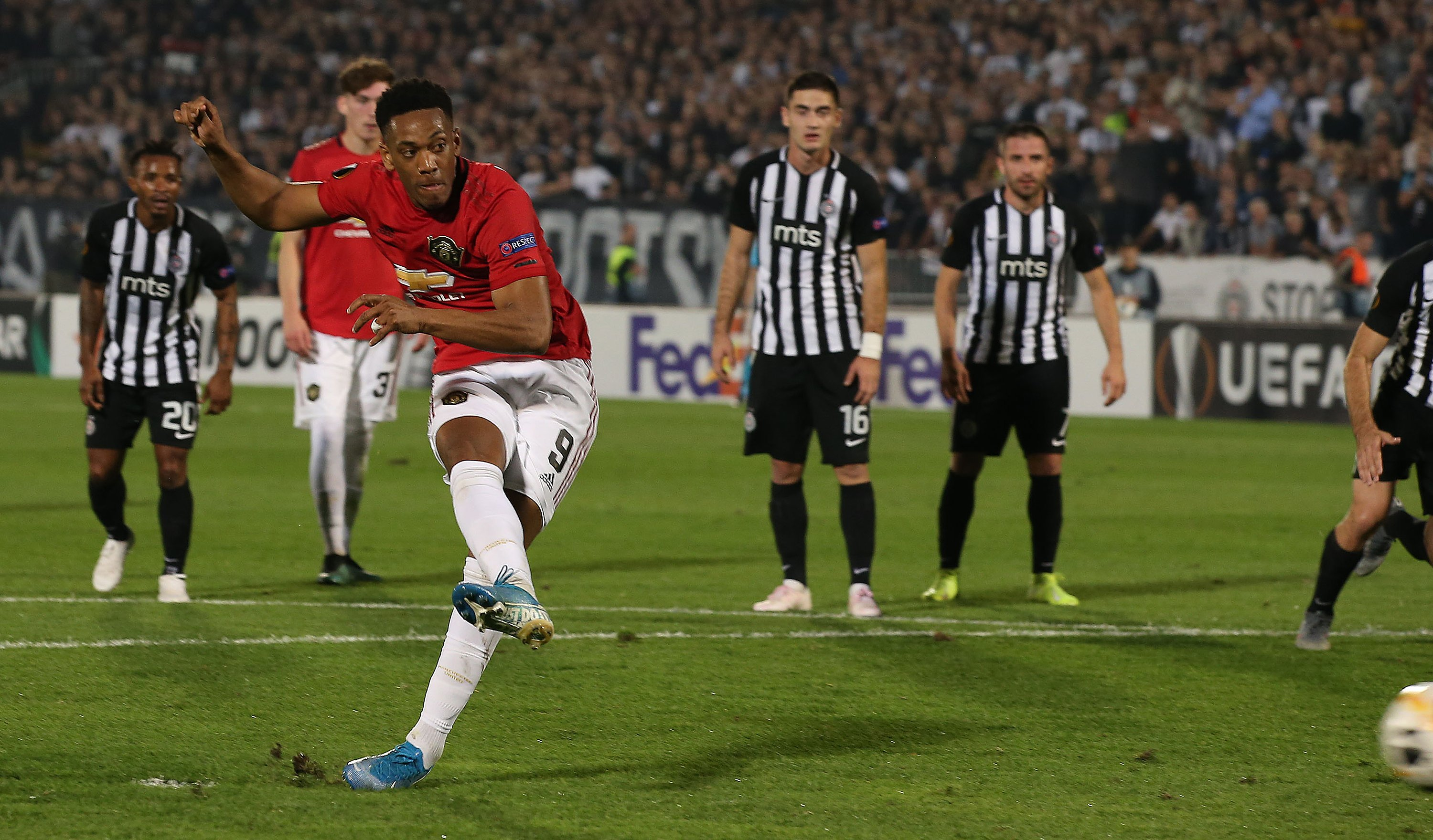 Europa League : Sadiq Stars In Partizan's Home Loss To Man United;  Ibrahim Bags Assist For Bratislava