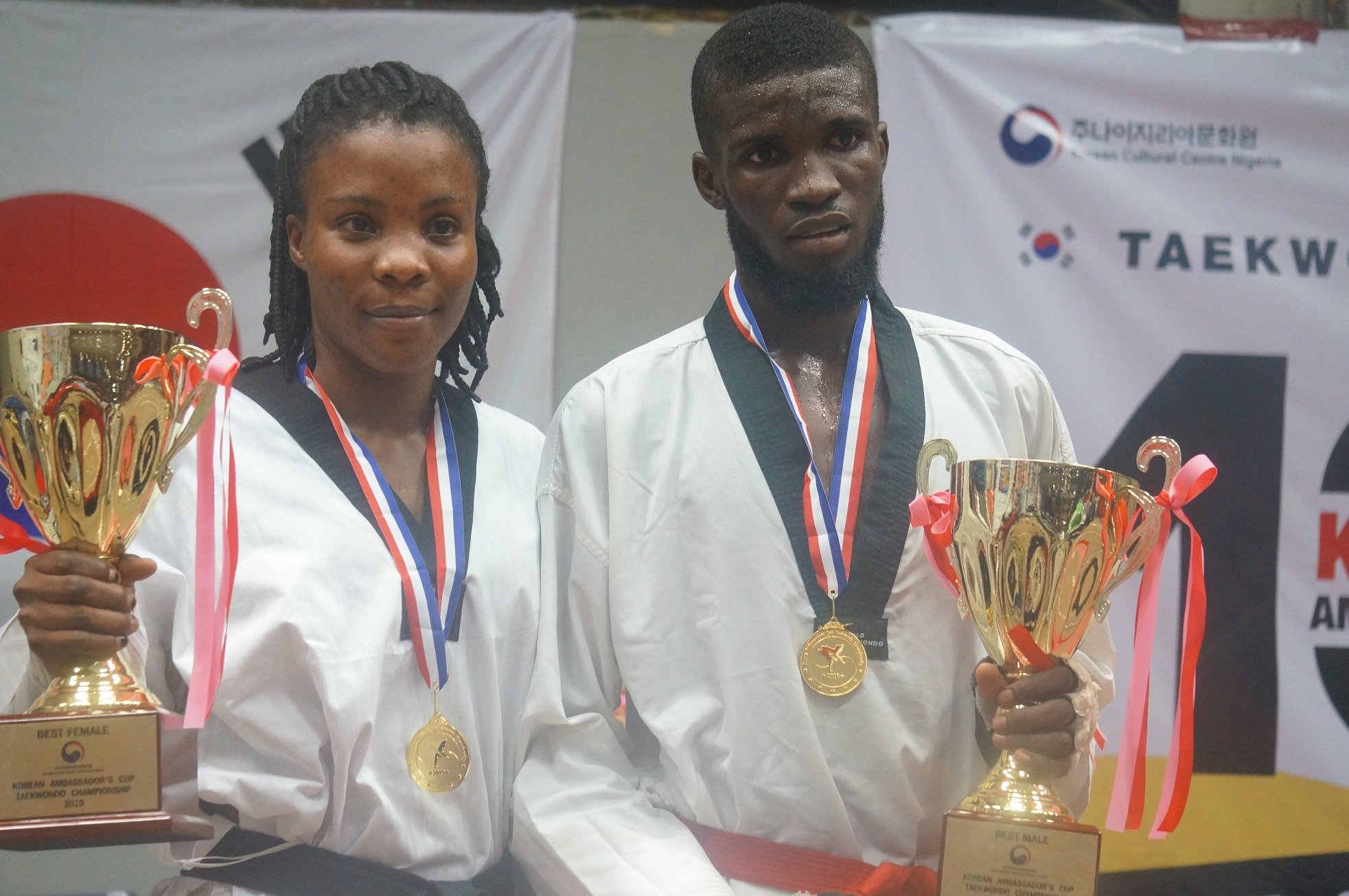 Otuadinma, Itiku Emerge MVP's At 10th Korean Ambassador's Cup