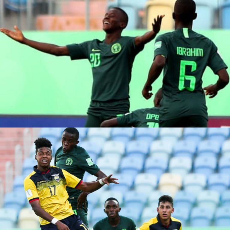 Said's Hat-Trick Floor Ecuador As  Eaglets Claim Brazil 2019 2nd Round Spot