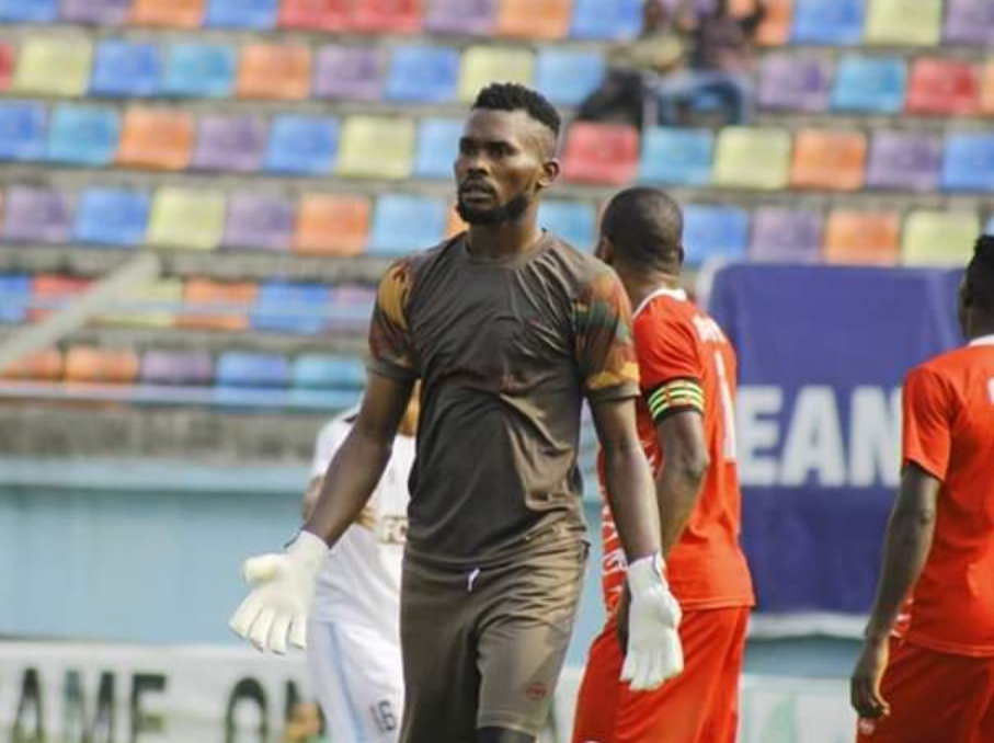 Pillars, Abia Warriors Resolve Transfer Feud Over Goalkeeper Enaholo