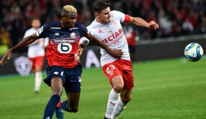 Eagles Roundup: Osimhen On Target In Lille Draw; Dennis Scores As Brugge Thrash Gent