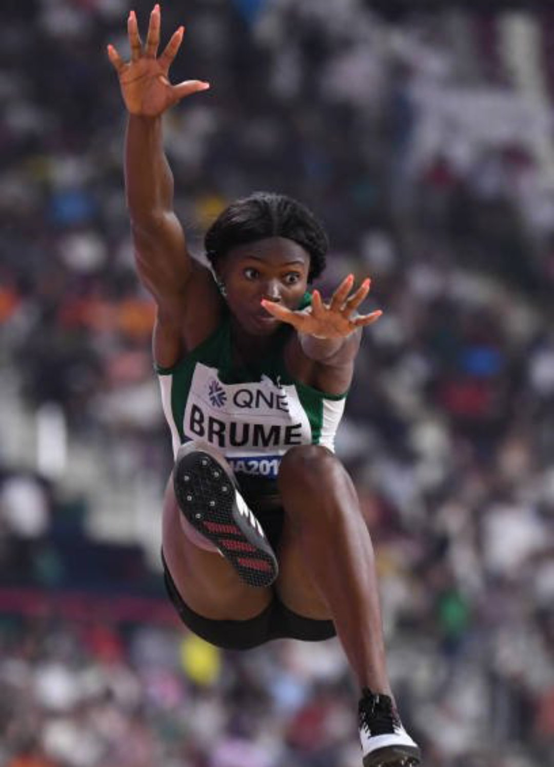 17th IAAF Worlds: Brume Leaps To Long Jump  Bronze As Amusan Falters At Final Hurdle