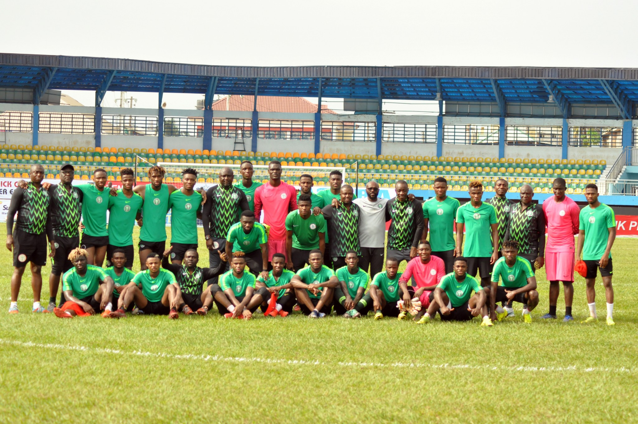 Amapakabo Optimistic As Olympic Eagles Resume Training Ahead U-23 AFCON Title Defence