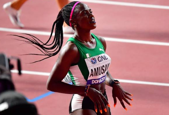 Amusan Proud Of Personal Best Showing At  2019 IAAF World Championships
