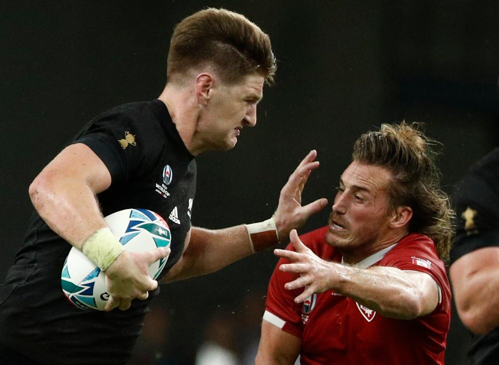 Barrett Brothers Shine As All Blacks Thrash Canada