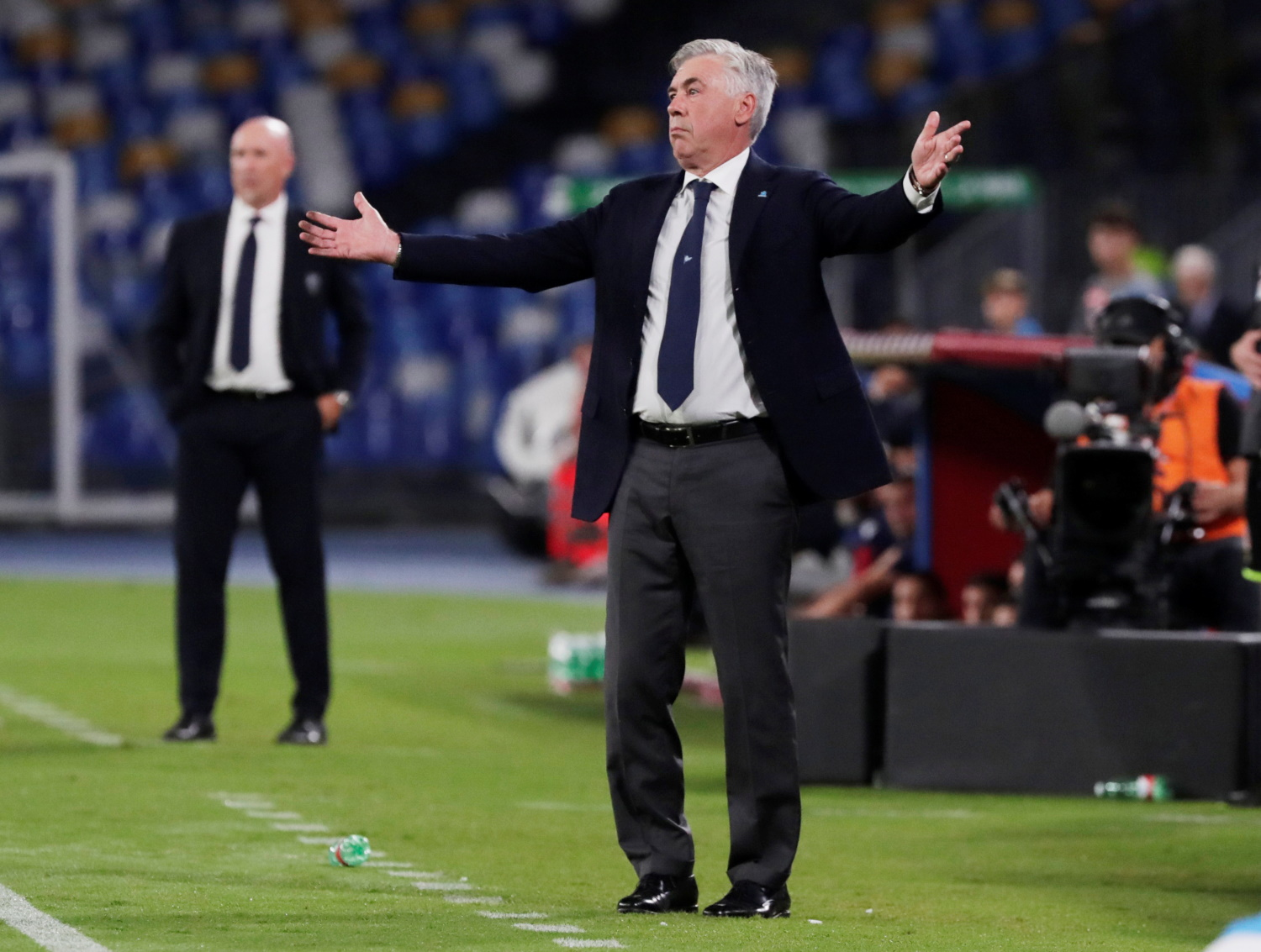De Laurentiis Rebuffs Ancelotti Fall-Out Claims
