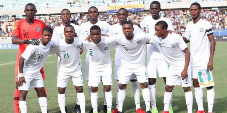 Golden Eaglets  Edge  Out South Korea 4-2 In  Warm-up Game