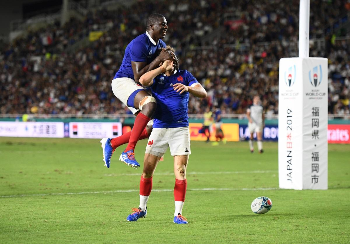 France Stumble Past USA