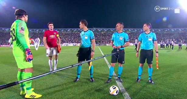 Maguire Forgets To Wait For Coin Toss As He Captains United (Video)