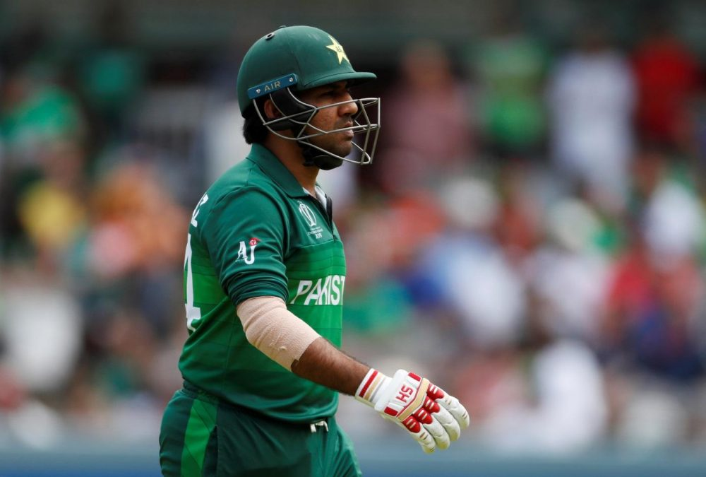 Pakistan Relieve Sarfaraz Of Captaining Duties