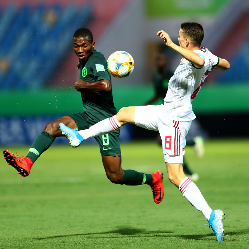 Fearsome Eaglets Fight Back To Down Hungary 4-2 In 1st Brazil 2019 Group B Clash