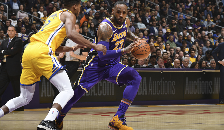 Lakers Consolidate On Great Start To NBA Season, Pip Warriors 120-94