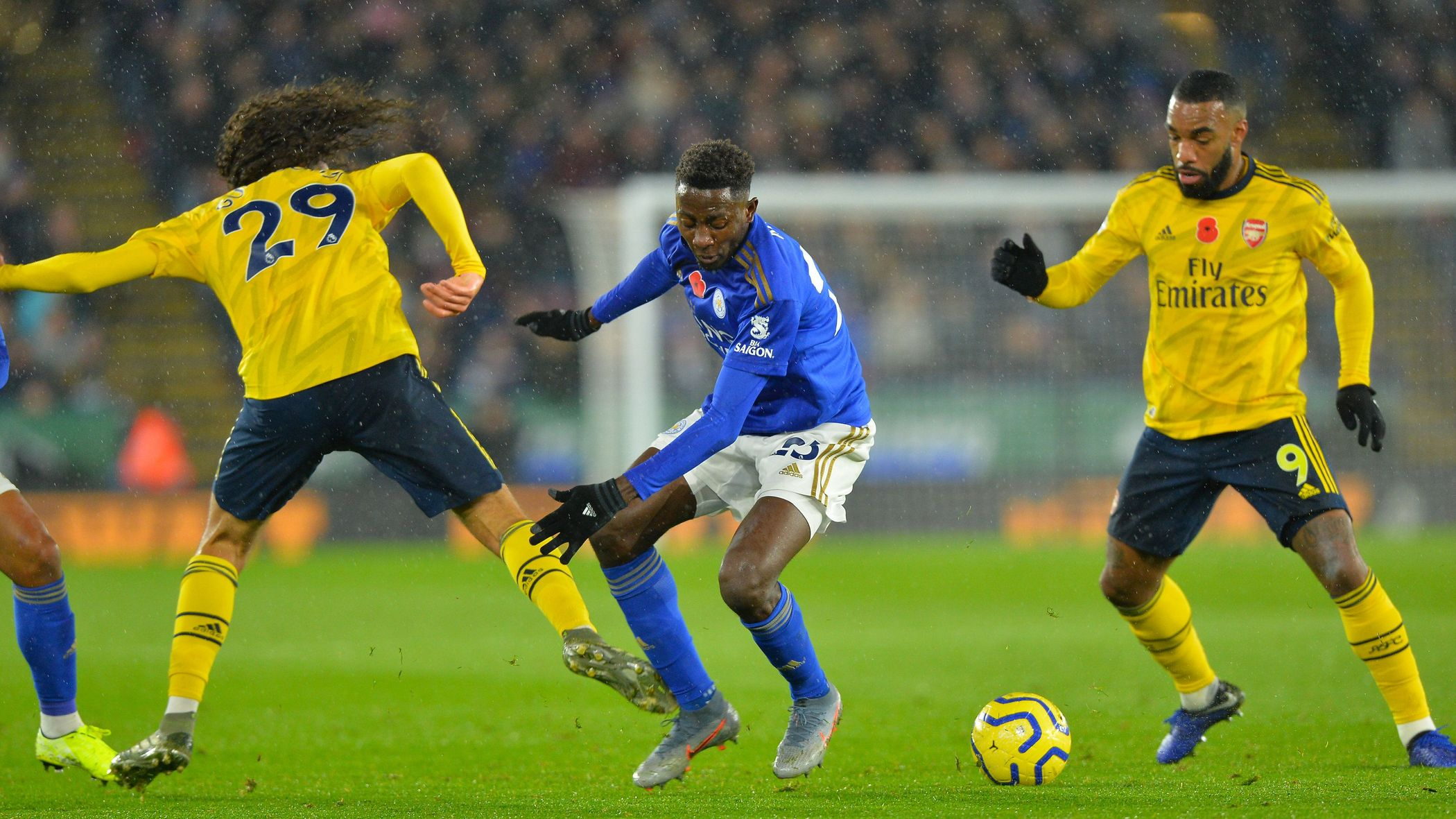 Maddison Hails Ndidi's Impact In Leicester Win Against Arsenal