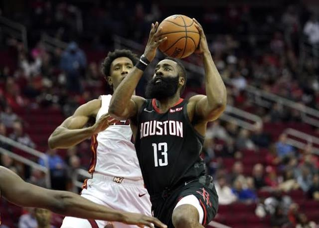 Heat Come To Town To Meet James Harden And Rockets At Toyota Center