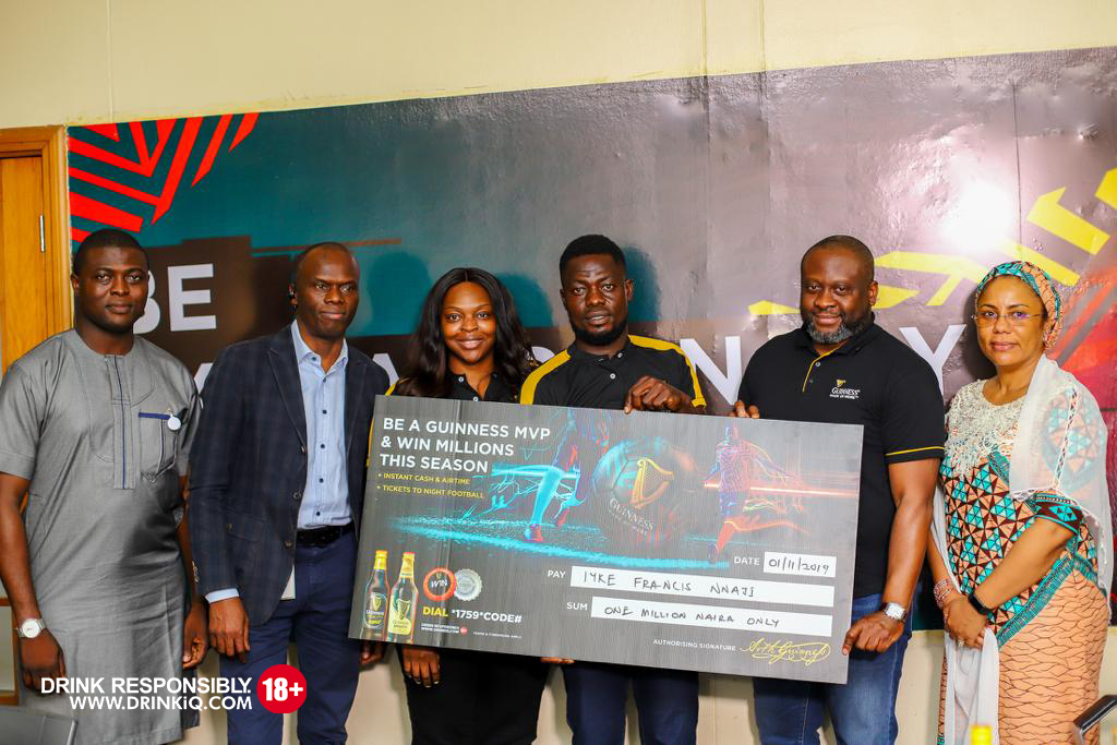 Fans Smile Home With Extraordinary Winnings In Guinness MVP Promo