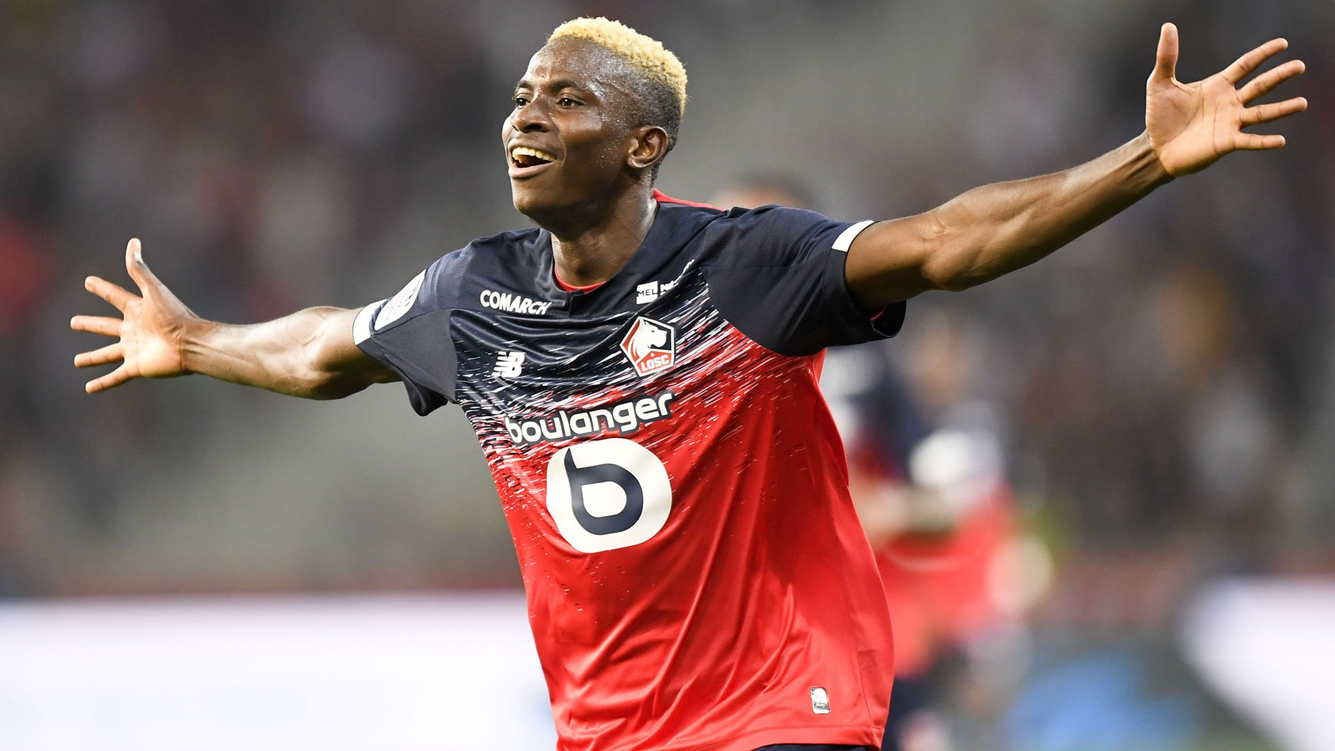 Galtier Rues Osimhen's Absence In Lille Defeat To PSG