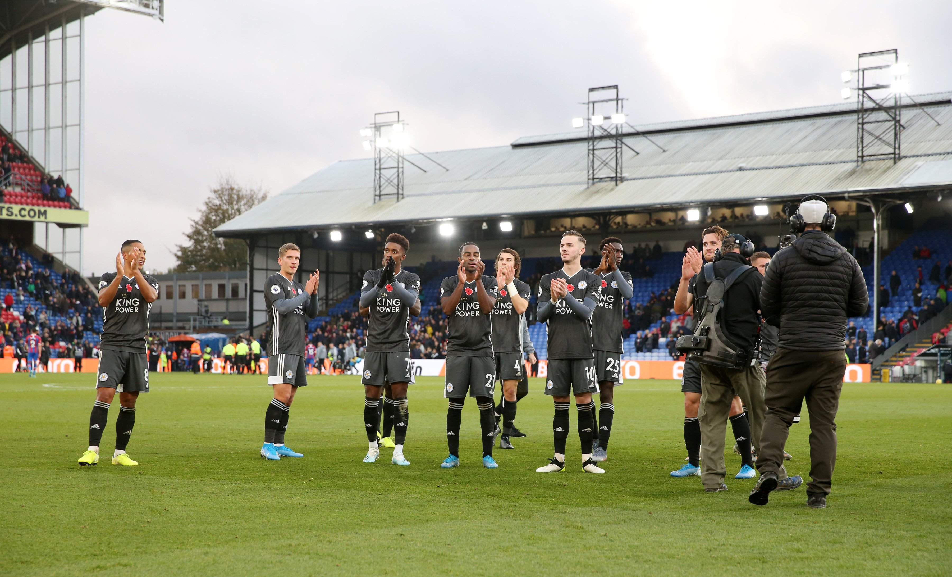 Ndidi Revels In Leicester City Away Win Against Crystal Palace