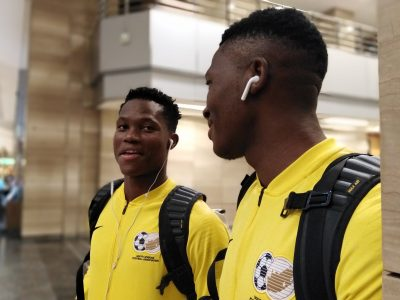 South Africa Arrive For U-23 AFCON With 12 Players