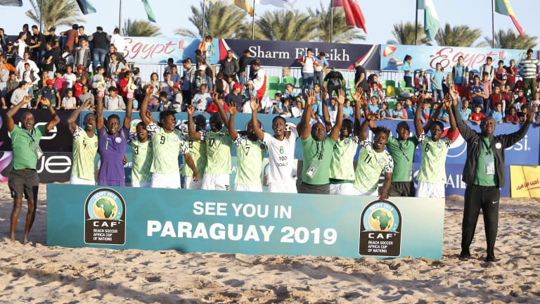 Supersand Eagles Off To Paraguay  Friday For  FIFA Beach Soccer World Cup