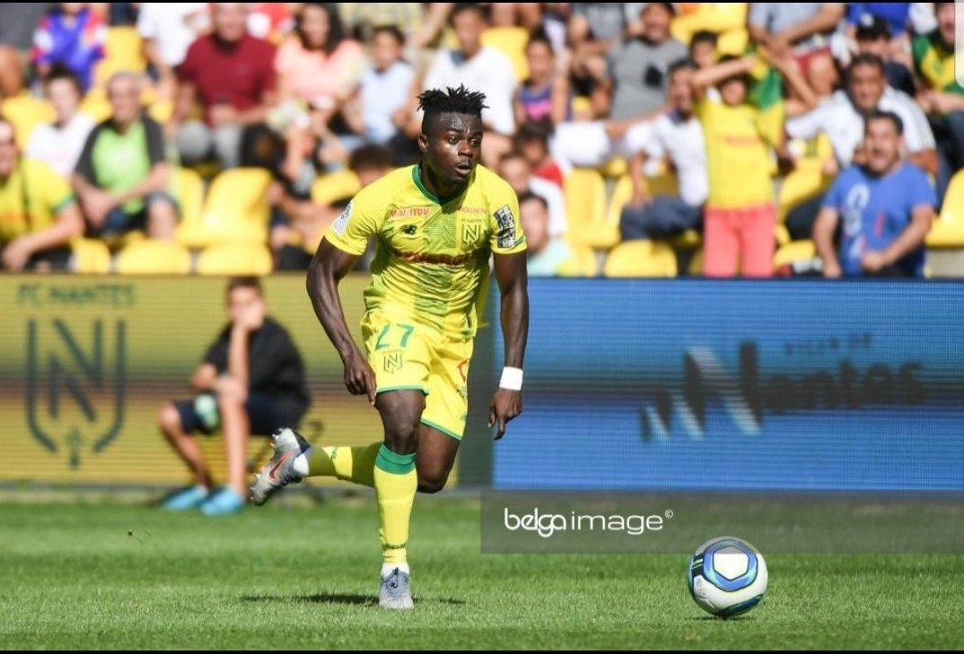 Simon Named  Nantes Player Of The Month For October