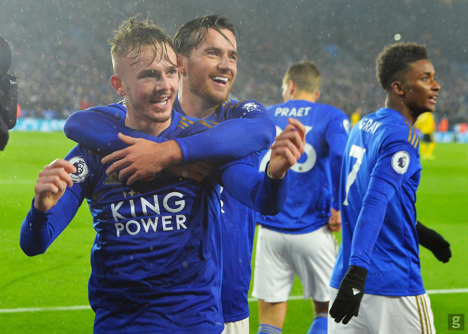 Ndidi Revels In Leicester City's 'Amazing' Home Win   Against Arsenal