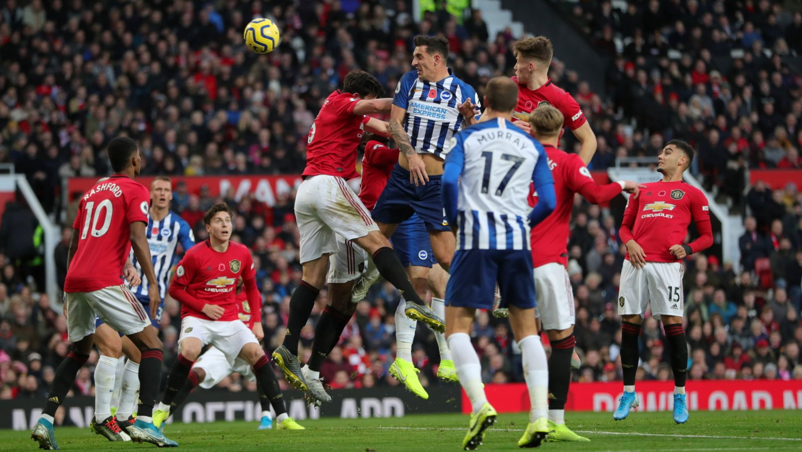 EPL: Balogun Benched As Brighton Lose 3-1 To Man United At Old Trafford