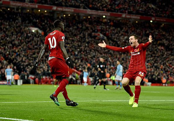 EPL: Ruthless Liverpool Stun Man City At Anfield