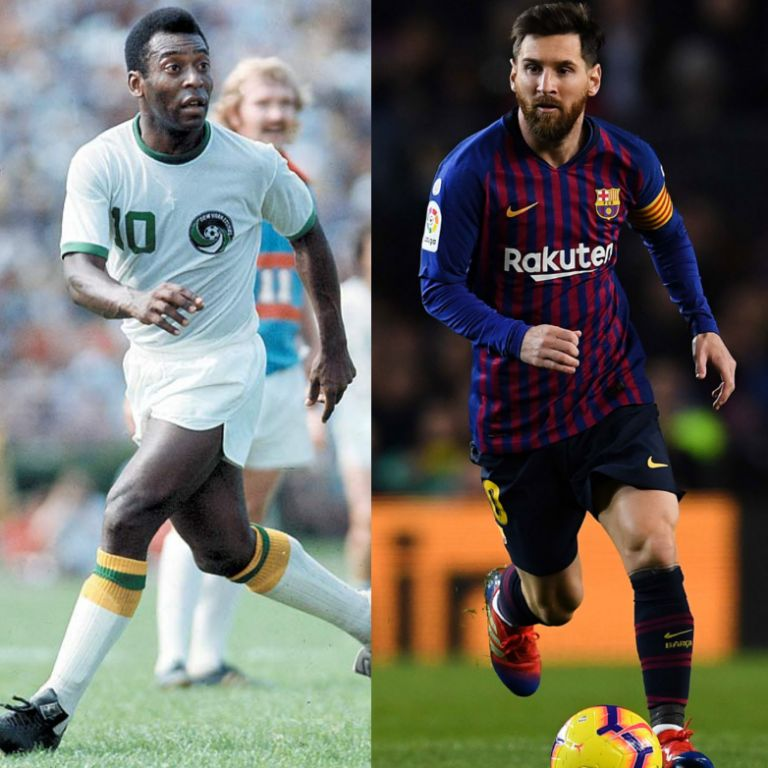 Pele: I Dream of Playing Alongside Messi – the Most Complete Footballer Today